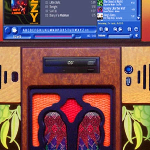 Rock-Ola Gazelle Jukebox Front | moneymachines.com