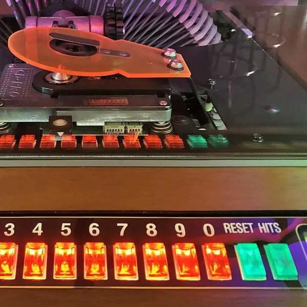 Rockola Bubbler Jukebox Keyboard | moneymachines.com