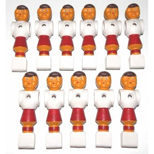 11 Rounded Foot Red Foosball Man | moneymachines.com