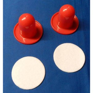 Set Lightweight Table Top Hockey Mallets | moneymachines.com