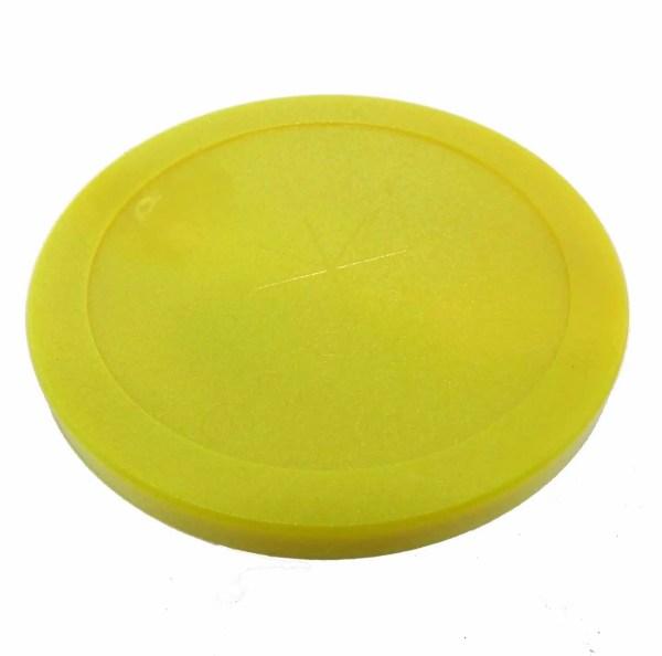 Shelti Brunswick Yellow 3 1/4 Inch Air Hockey Puck | moneymachines.com
