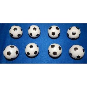 8 Checkered Soccer Balls | moneymachines.com
