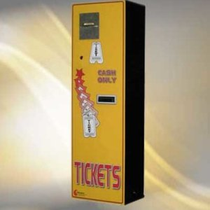 Standard Change Makers MC350RL Rear Loading Ticket Vending Machine | moneymachines.com