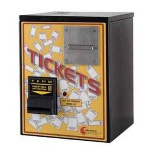 Standard Change Makers MCM100-TIK Mini Ticket Vending Machine | moneymachines.com