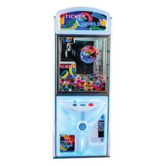 Ticket World Ticket Vending Crane Machine