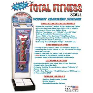 Total Fitness Coin Operated Weight Scale Brochure | moneymachines.com
