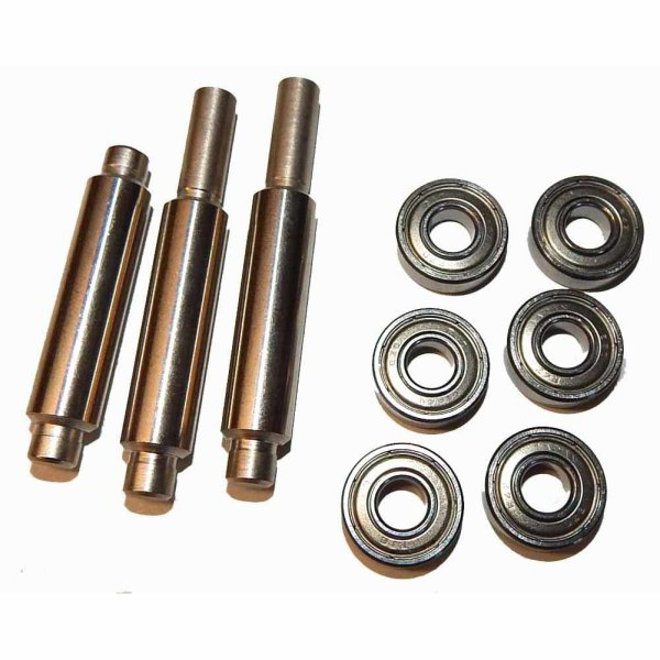 """2 1/4"""" Trackball Roller Bearings and Rollers 