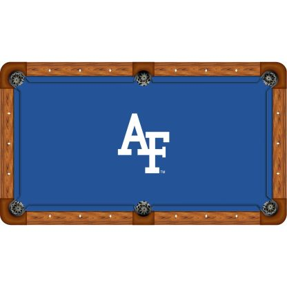 Air Force On Blue Billiard Table Cloth | moneymachines.com