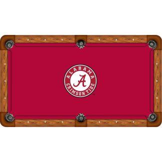 Alabama Crimson Tide Billiard Table Cloth   moneymachines.com