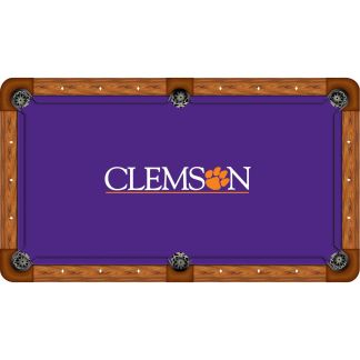 Clemson Tigers Billiard Table Cloth | moneymachines.com