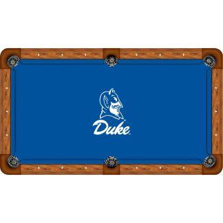 Duke Blue Devils Billiard Table Cloth | moneymachines.com