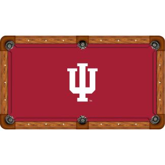 Indiana Hoosiers Billiard Table Cloth   moneymachines.com