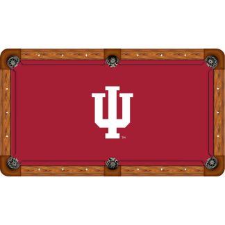 Indiana Hoosiers Billiard Table Cloth | moneymachines.com