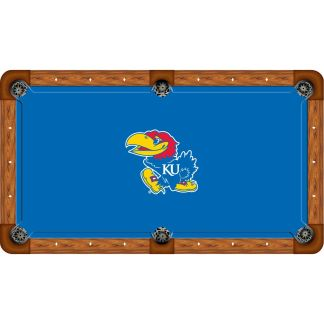 Kansas Jayhawks Billiard Table Cloth | moneymachines.com