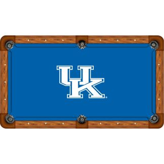 Kentucky Wildcats Billiard Table Cloth | moneymachines.com
