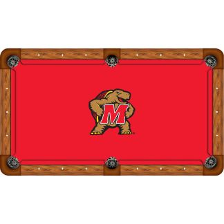 Maryland Terrapins Billiard Table Cloth | moneymachines.com