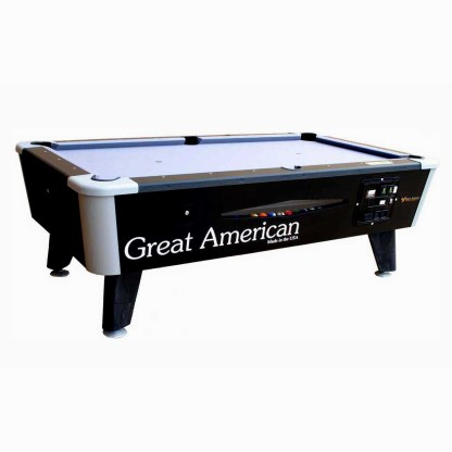 Great American Black Diamond Pool Table | moneymachines.com