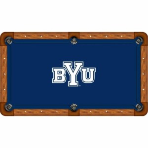 Brigham Young Billiard Table Cloth | moneymachines.com