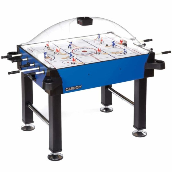 Carrom Signature Stick Hockey Table With Legs | 435.00 Blue | moneymachines.com