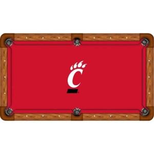 Cincinnati Bearcats Billiard Table Cloth   moneymachines.com