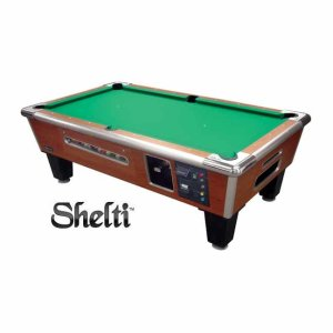 Gold Standard/Shelti Coin Dollar Pool Table | moneymachines.com