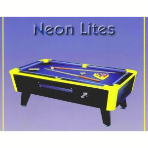 Great American Neonlites Coin-Op Pool Table | moneymachines.com