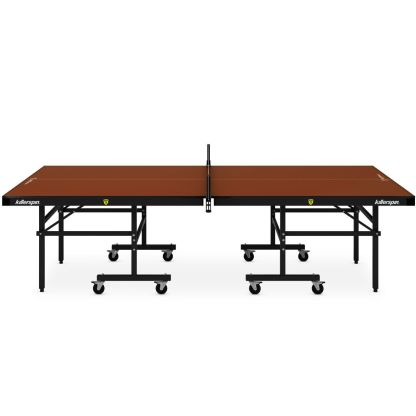 Killerspin MyT5 Mocha Table Tennis Table Side View | moneymachines.com