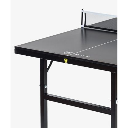 Killerspin MyT Small Deep Chocolate Ping Pong Table End Detail | moneymachines.com