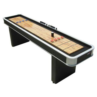 Atomic 9' Platinum Shuffleboard Table | M01702AW | moneymachines.com