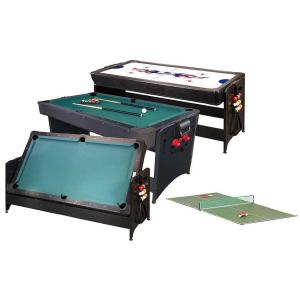 Combination Game Tables - Billiards, Air Hockey, Table Tennis