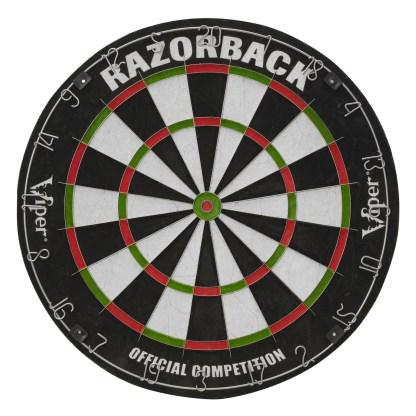 Viper Razorback Sisal Dartboard - 42-6006   moneymachines.com