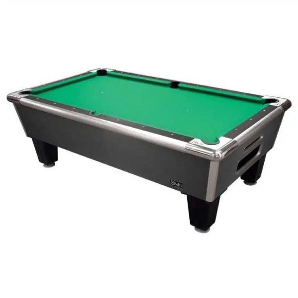 Shelti Bayside Charcoal 7' Home Pool Tables   moneymachines.com