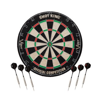 Viper Shot King Bristle Dartboard - 42-6002 | moneymachines.com