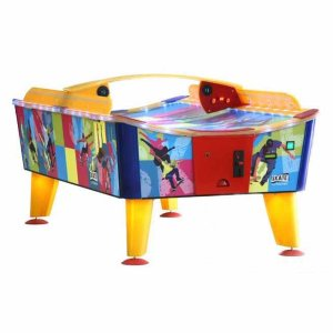 Skate Coin Operated Weatherproof Outdoor Air Hockey Table | moneymachines.com