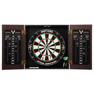 Viper Stadium Steel Tip Cabinet & Dartboard Set | moneymachines.com