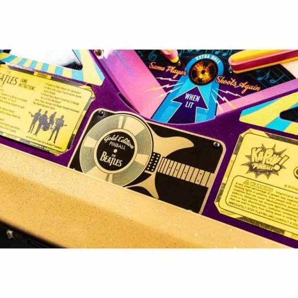 Stern Beatles Gold Edition Pinball Machine   moneymachines.com