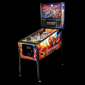 Stern Iron Maiden Pro Pinball Game Machine | moneymachines.com