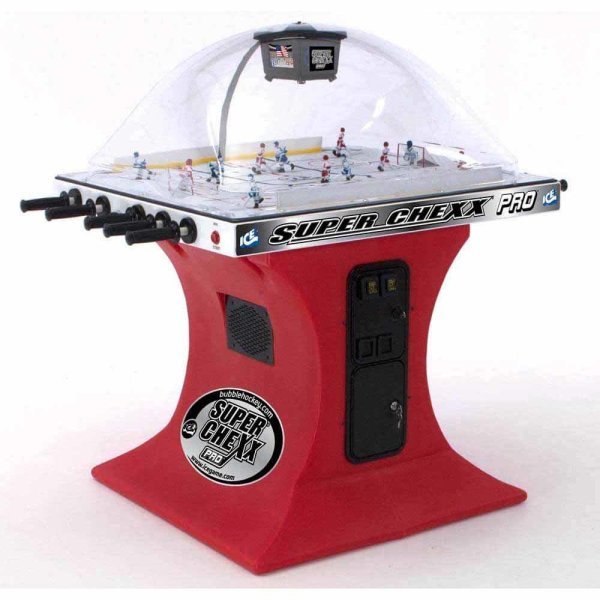 Super Chexx Pro Coin-Operated Bubble Hockey Table | moneymachines.com