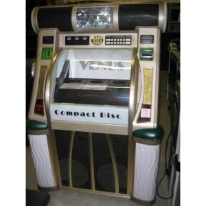 Used Rowe/AMI CD 100F Jukebox Loaded With CDs | moneymachines.com