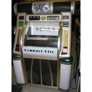 Used Rowe/AMI CD 100F Jukebox Loaded With CDs   moneymachines.com