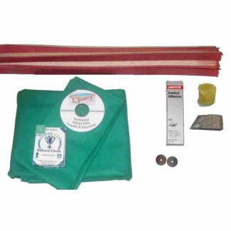 Velocity Pro Billiard Table Cloth Recovering Kit | moneymachines.com
