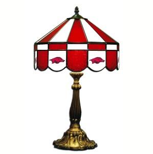 Arkansas Razorbacks Stained Glass Table Lamp | moneymachines.com