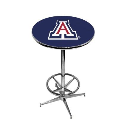 Arizona Wildcats College Logo Pub Table   moneymachines.com