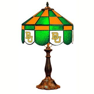 Baylor Bears Stained Glass Table Lamp | moneymachines.com