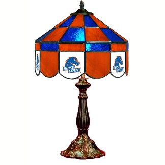 Boise State Broncos Stained Glass Table Lamp   moneymachines.com