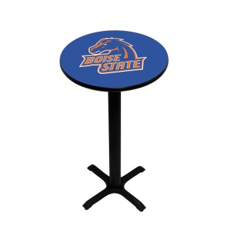 Boise State Broncos College Logo Pub Table | moneymachines.com
