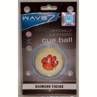 Clemson Tigers Billiard Cue Ball | moneymachines.com