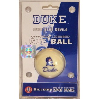 Duke Blue Devils Billiard Cue Ball | moneymachines.com