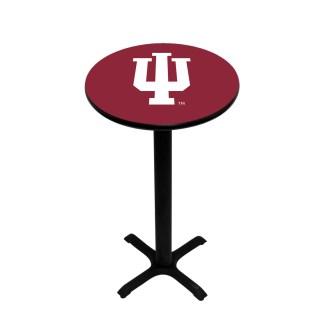 Indiana Hoosiers College Logo Pub Table | moneymachines.com
