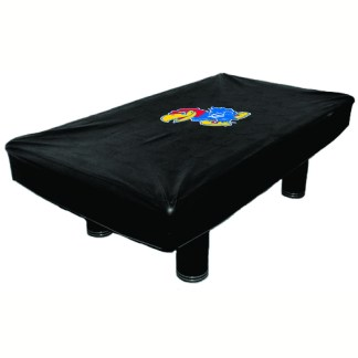 Kansas Jayhawks Billiard Table Cover | moneymachines.com